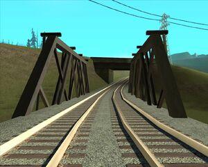 12а. Мост над проселочной дорогой. Округ Флинт