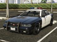 Police Cruiser Stanier avant GTA V