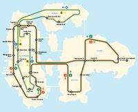 Metro (IV - mapa)