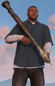 RocketLauncher-GTAV-Franklin