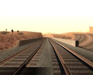 6а. Мост над автострадой. Пустынный округ