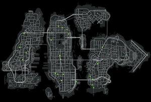 Personnages aléatoires GTA IV (carte)