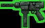 Silenced S-Uzi Machine Gun (GTA2 - HUD)
