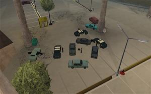 The Green Sabre GTA San Andreas (arrestation)
