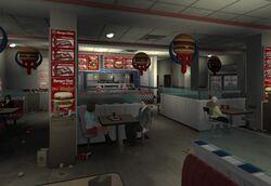 Burger Shot (IV - wnętrze)