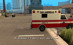 Intensive Care GTA San Andreas (imprévu)