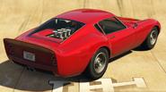 Stinger GT vue derrière