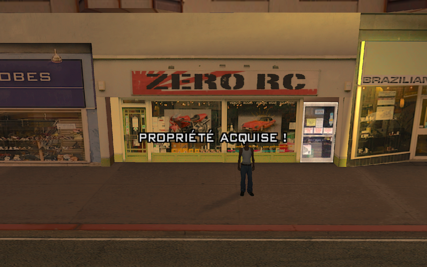 Boutique de Zero GTA San Andreas (achat)