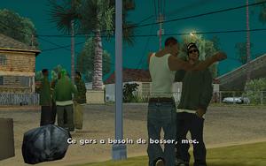 House Party GTA San Andreas (aparté)