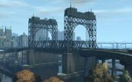 East Borough Bridge (ouest) GTA IV