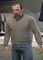 Ponsonbys (V - Szarobrązowy sweter)