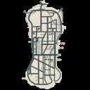 Small Staunton Island Map
