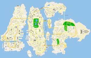 Map of Liberty City (IV)