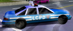 Beta Policecar GTA III
