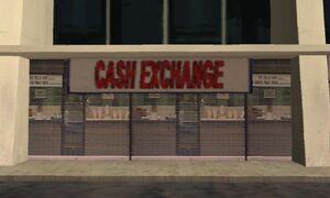 Cash Exchange - Temple