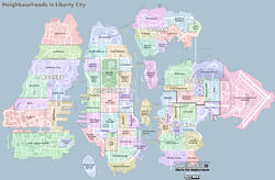 Liberty City (IV) (mapa - 2)