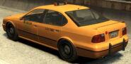 Taxi Declasse vue-arrière GTAIV
