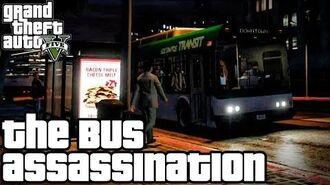 Grand Theft Auto V (PS3) - O Assassinato no Ônibus - Legendado em Português