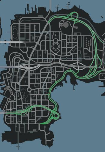Broker - Dukes Expressway (IV - mapa)