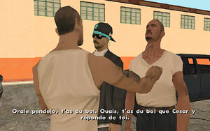 Cesar Vialpando (mission) GTA San Andreas (altercation)
