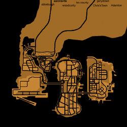 Liberty City (III - mapa - 2)