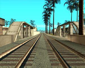 1а. Мост над дренажным каналом. Лос Сантос