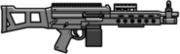 Bojowy Karabin Maszynowy wer.2 (V - HUD)