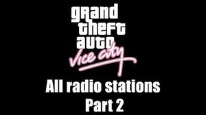GTA Vice City - All radio stations Part 2