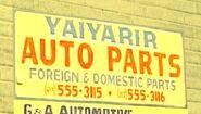 Yaiyarir Auto Parts (SA - 3)