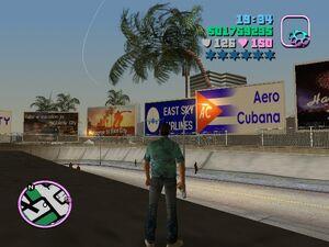 Aero Cubana screen
