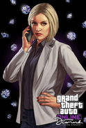 Agatha Baker - GTA Online (artwork)