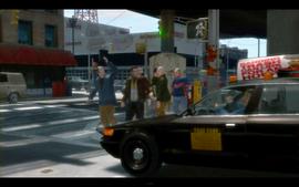 Taxi noir GTA IV