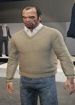 Ponsonbys (V - Brązowawy sweter)