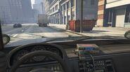 Interieur Police Cruiser Interceptor (vue FPS)