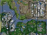 Popisy kaskaderskie w GTA San Andreas