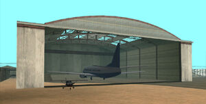 Las Venturas Airport GTA San Andreas (hangar)