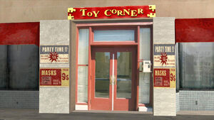 Toy Corner in San Andreas