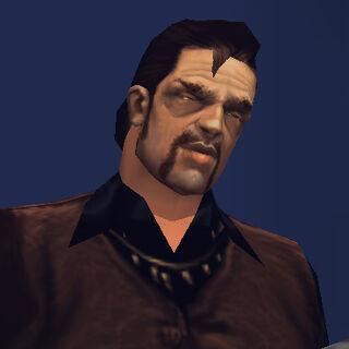 زعيم العصابة السابق ميغيل.