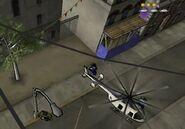 Вертолёт копов