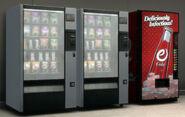 Distributeurs eCola et snacks GTA IV