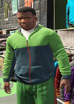 SubUrban (V - Zielona bluza z kapturem)