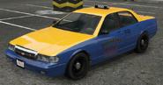 Taxi vue avant GTAV