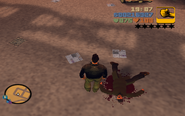 GTA III Marty Chonks dead