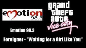 GTA Vice City - Emotion 98