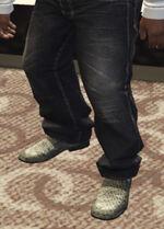Ponsonbys (V - Dwutonowe buty z krokodyla)