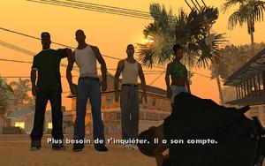End of the Line GTA San Andreas (retenue)
