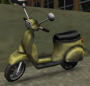 Faggio GTA Vice City