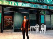Niko Ray Boccino étterménél, a Drusilla'snál