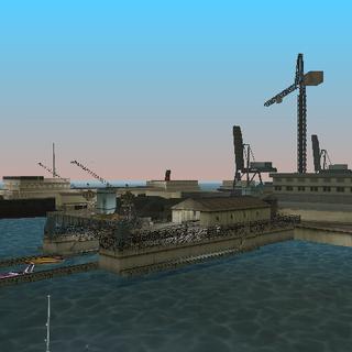 حوض بناء السفن.
