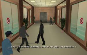 Architectural Espionage GTA San Andreas (évacuation)